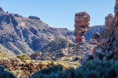Visibilité directe Roques sur Ténérife Image stock