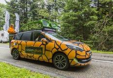 Visie plus - Le-Ronde van Frankrijk 2014 Stock Fotografie