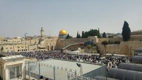 Visiebeeld van de Heilige Plaatsen in Jeruzalem royalty-vrije stock fotografie