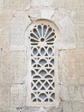 Details window Visigothic church Royalty Free Stock Image