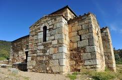 The Visigoth Basilica of Santa Lucia del Trampal in Alcuescar. Spain Stock Photos
