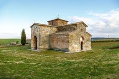 Visigoth San Pedro de la Nave El Campillo, kommun av det San Pedro de la Nave Almendra landskapet av Zamora Spanien Förklarade Na Royaltyfri Foto