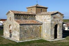 Visigoth San Pedro de la Nave El Campillo, kommun av det San Pedro de la Nave Almendra landskapet av Zamora Spanien Förklarade Na Arkivfoto