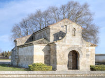 Visigothic church of St. John of bays in the province of Palencia Stock Photography