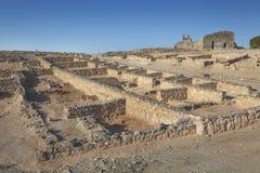 Visigothic fördärvar av Reccopolis Arkivfoto