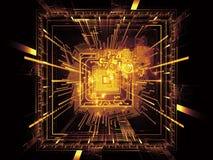 Visión de la CPU Fotografía de archivo
