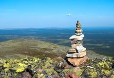 Visión desde la montaña Foto de archivo libre de regalías