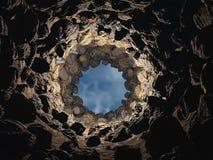 Visión desde un receptor de papel Foto de archivo libre de regalías