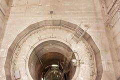 Visión en el recipiente del reactor de reactor de la central nuclear Fotos de archivo