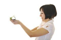 Visión verde Fotos de archivo libres de regalías