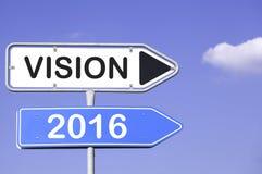 Vision 2016 Imágenes de archivo libres de regalías