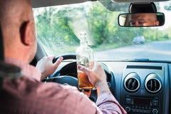Vision altérée après alcool Photos libres de droits