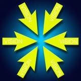 Vision artwork Stock Image