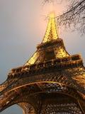 Vision av Eiffeltorn Arkivfoton