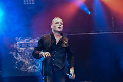 The Vision Bleak live 2016 Hellfest, horror metal band Royalty Free Stock Photography