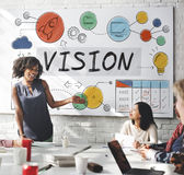 Vision Business Growth Corporate Target Concept Stock Image