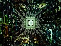Vision of Computer CPU Royalty Free Stock Photos