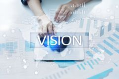 Vision concept. Business, Internet and technology concept. Vision concept. Business, Internet and technology concept Royalty Free Stock Photo