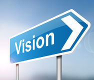 Vision concept. Royalty Free Stock Photos