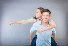 Vision couple Royalty Free Stock Photography
