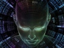 Vision d'identité de Digital Image libre de droits