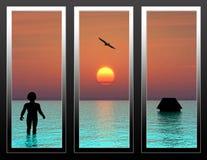 Vision de l'avenir Image libre de droits