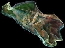 Vision de la partícula de la mente stock de ilustración