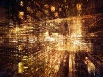 Vision de monde de Digital Images stock