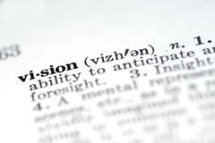 Vision Stock Photo