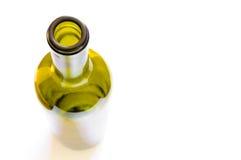 Vision des bouteilles d'en haut Images libres de droits