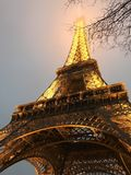 Vision des Eiffelturms Stockfotos