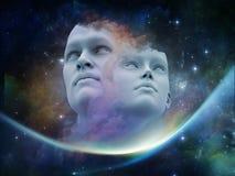 Vision des humains Image stock
