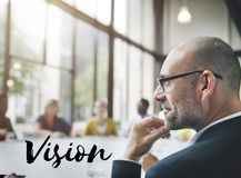 Vision Direction Future Ideas Motivation Target Concept Royalty Free Stock Image