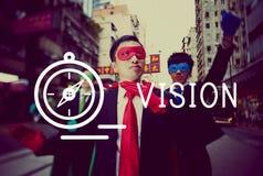 Vision Direction Future Ideas Motivation Target Concept Stock Image