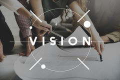 Vision Direction Future Inspiration Motivation Concept Stock Photo