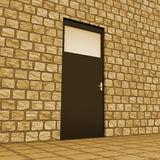 Vision Door Indicates Aspirations Plan And Aim. Planning Vision Showing Door Frames And Missions stock illustration