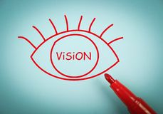 Vision eye Royalty Free Stock Photo