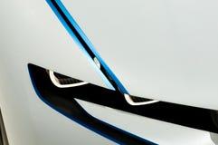 vision för efficientdynamics för detalj för bmw-bilbegrepp Arkivbilder