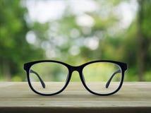 vision för exponeringsglas för affärsidédiagramfokusering förstorande Fotografering för Bildbyråer