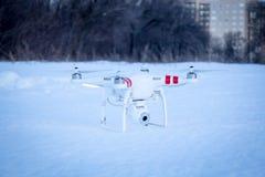 Vision för fantom 2 för kvadrathelikopter DJI Fotografering för Bildbyråer