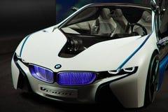 vision för framdel för bmw-bilbegrepp Royaltyfri Bild