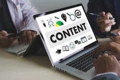 Vision för information om publikation för massmedia för NÖJDA marknadsföringsdata tillfredsställer Blogging begrepp royaltyfri fotografi