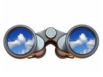 vision för långt område Arkivfoton