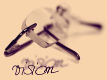 vision för examenögonexponeringsglas Royaltyfria Foton