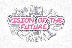 Vision Of The Future - Business Concept. royalty free illustration