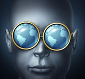 Vision globale Photos libres de droits
