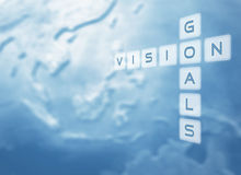 Vision and Goals Royalty Free Stock Photo