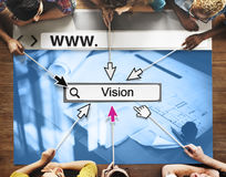 Vision Goals Inspiration Mission Motivation Ideas Concept Royalty Free Stock Image