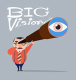 Vision grande Fotografía de archivo