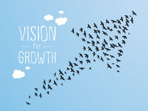 Vision for Growth Stock Images